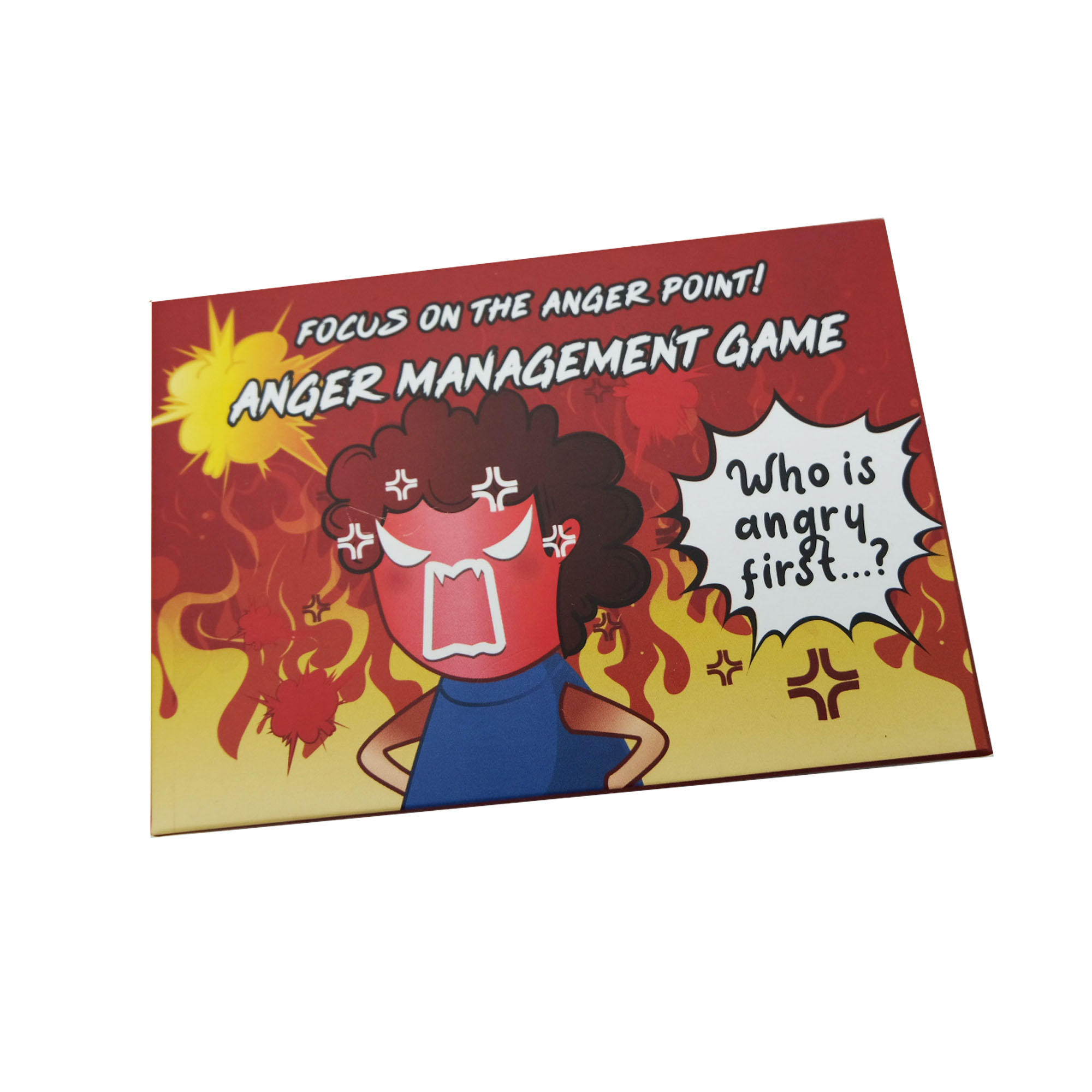 Anger Management Party Game Box Game Fun